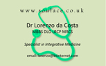 Lorenzo's business card